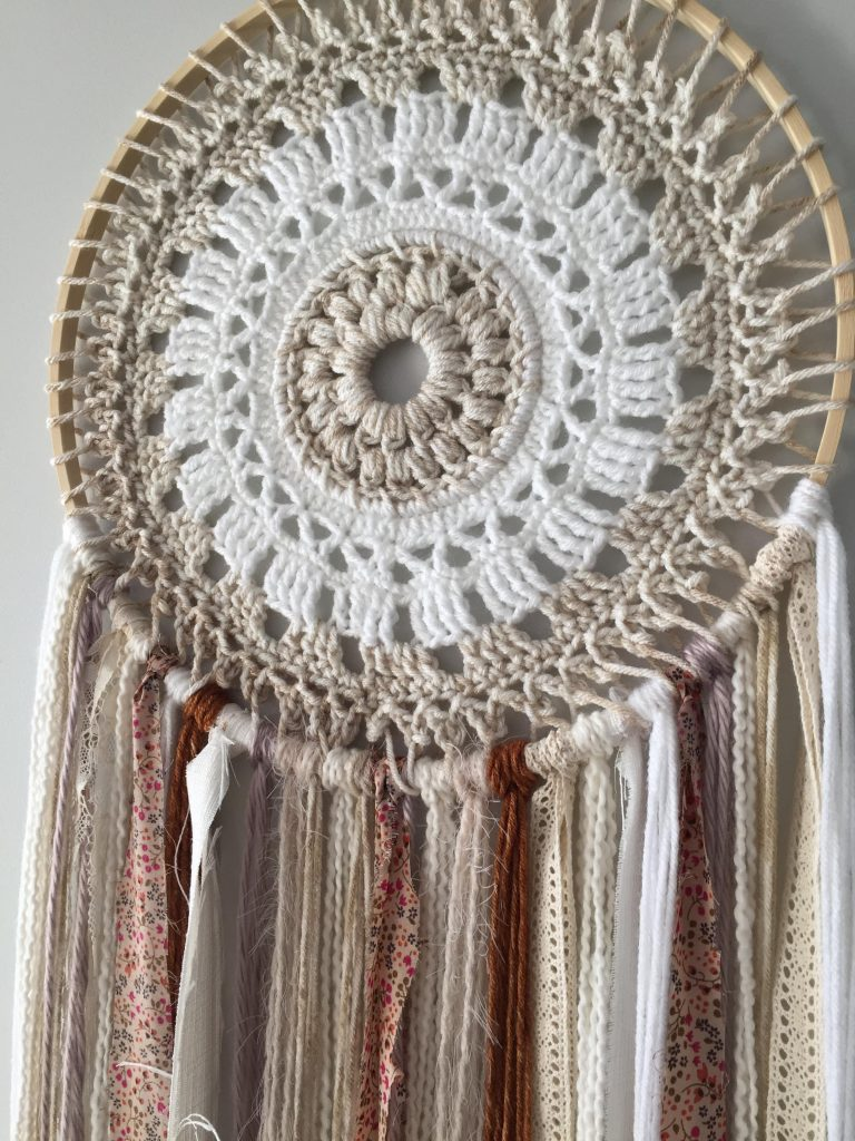 Crochet Dream Catcher Free Pattern