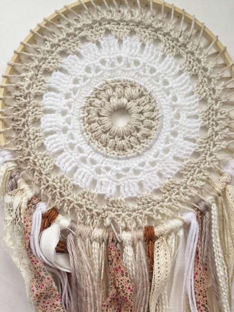 Crochet Mandala Wall Hanging Pattern