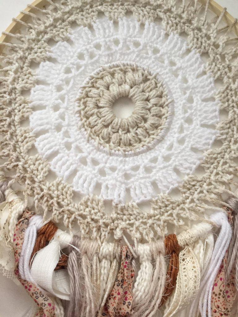 Crochet Dreamcatcher Free Pattern