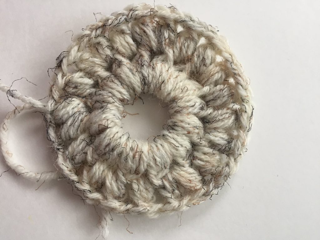 Puff Stitches in the Round