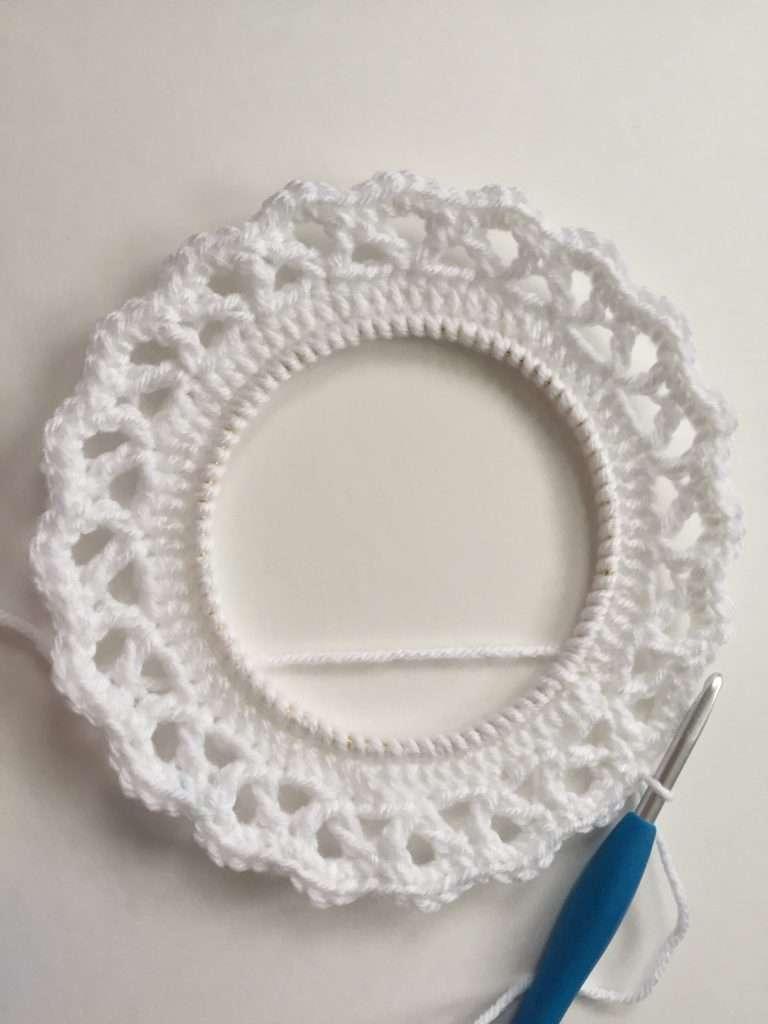 Round of Single Crochet Stitches