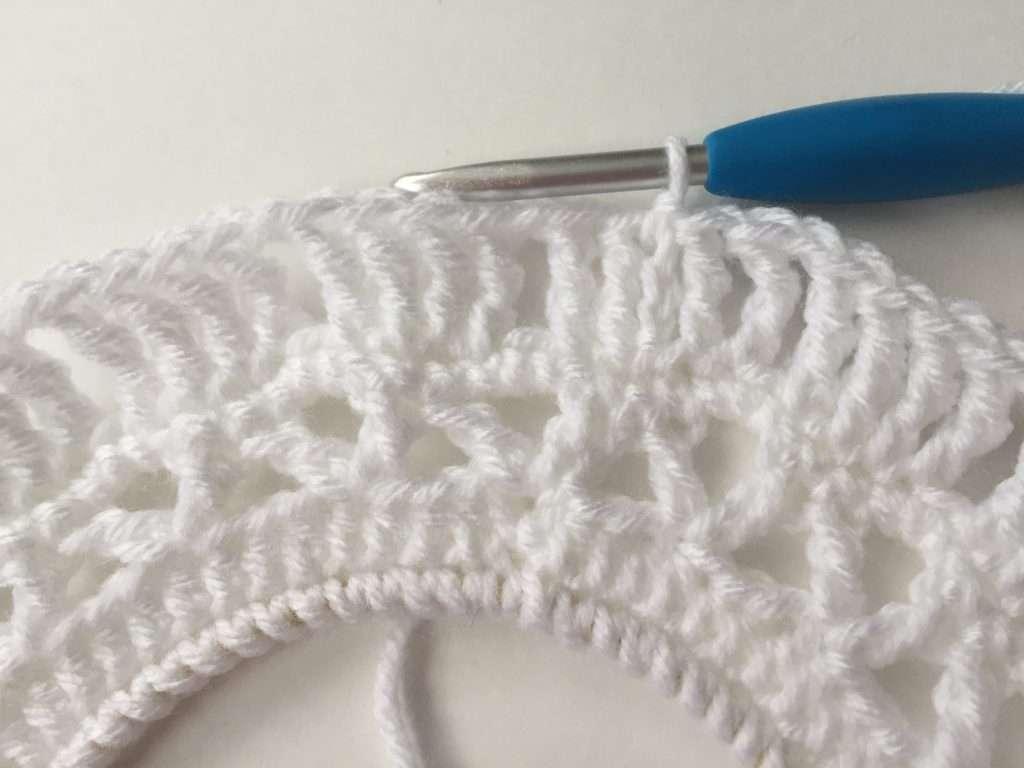 Triple Crochet in a Dream Catcher