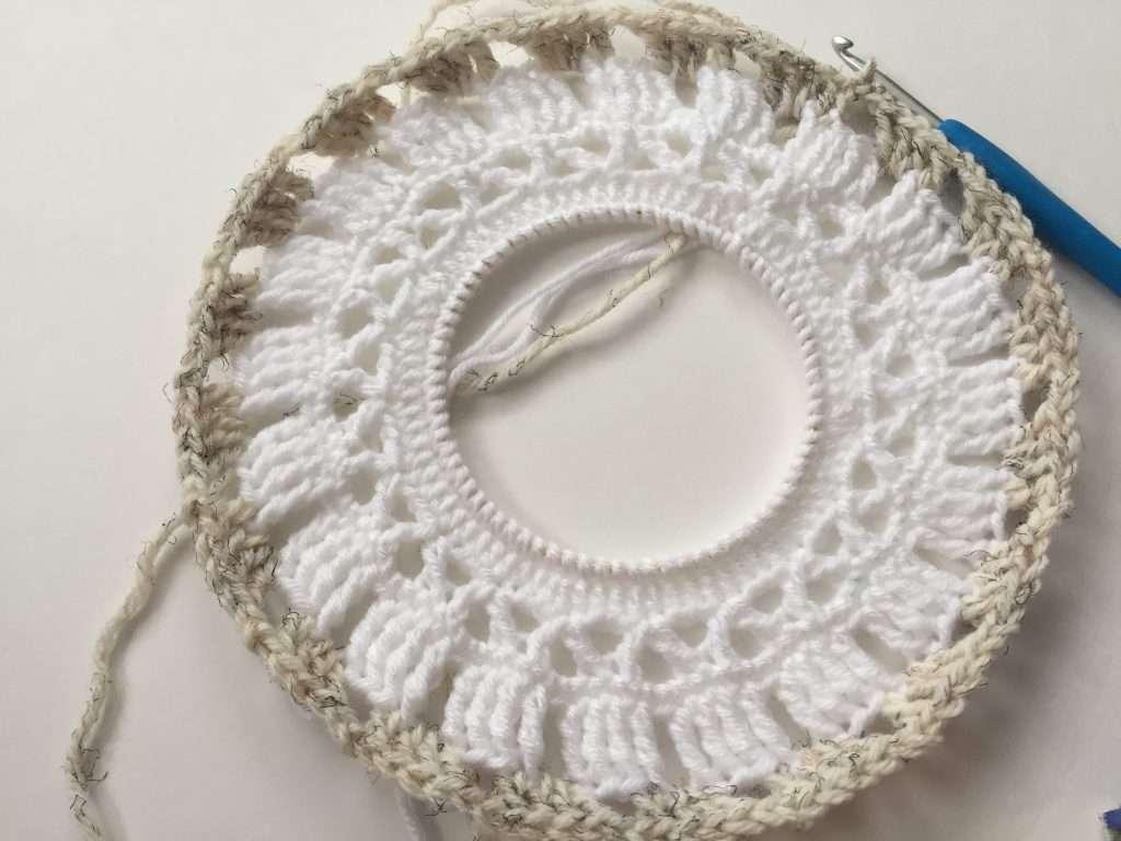 Crochet Mandala Pattern Progress