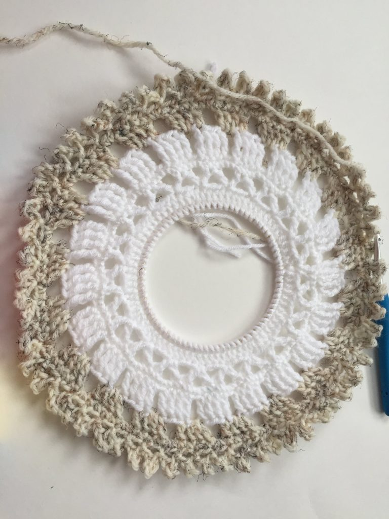 Crochet Picot in the Round