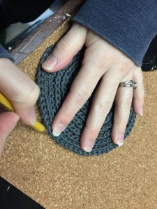 Crochet Trace Coasters