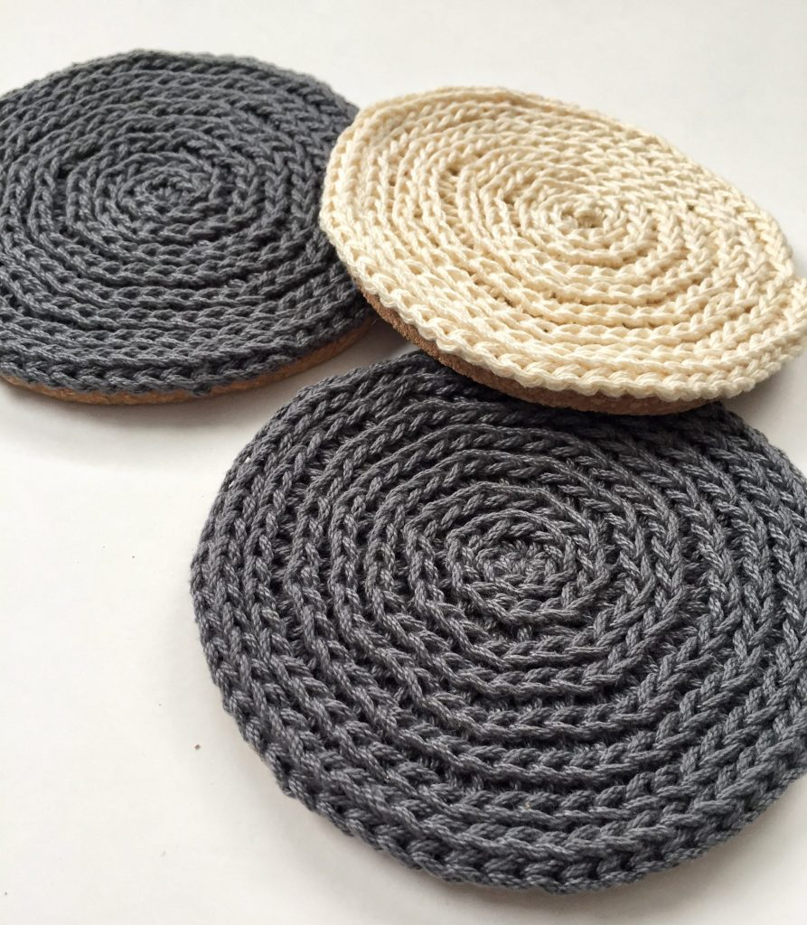 Crochet Coasters Free Pattern and Video Tutorial