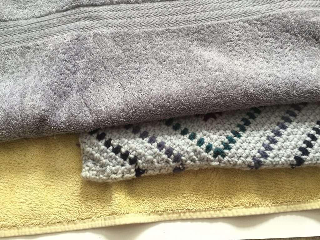 Washing a Crochet Pillow Cover