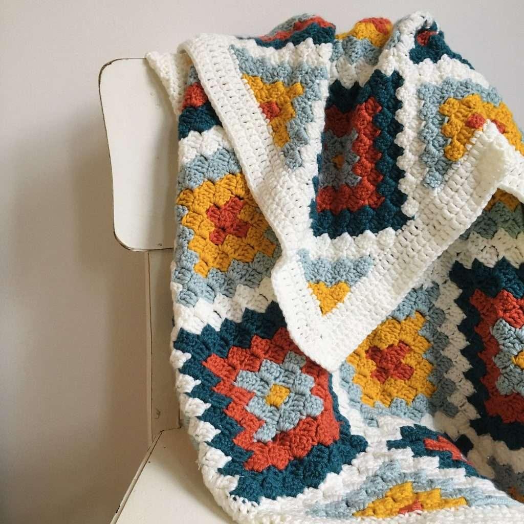 4 Corners C2C Blanket