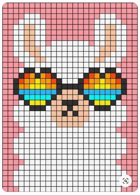 Alpaca Pattern Chart