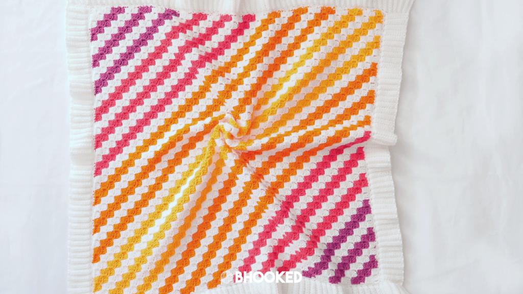 Baby Brights C2C Blanket Pattern