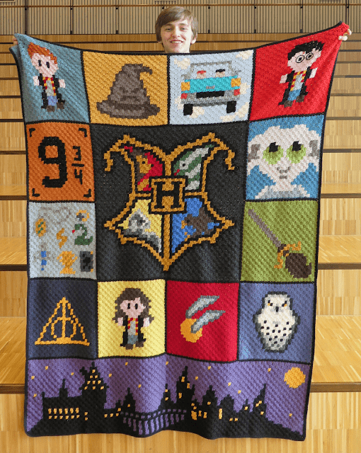 Harry Potter Graphghan
