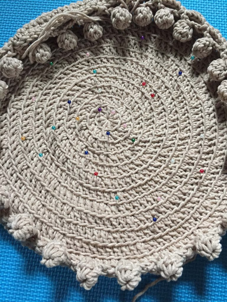 How to Make Crochet Placemats Lie Flat