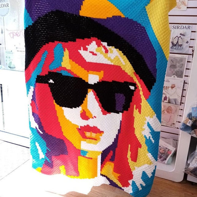 Taylor Swift C2C Blanket