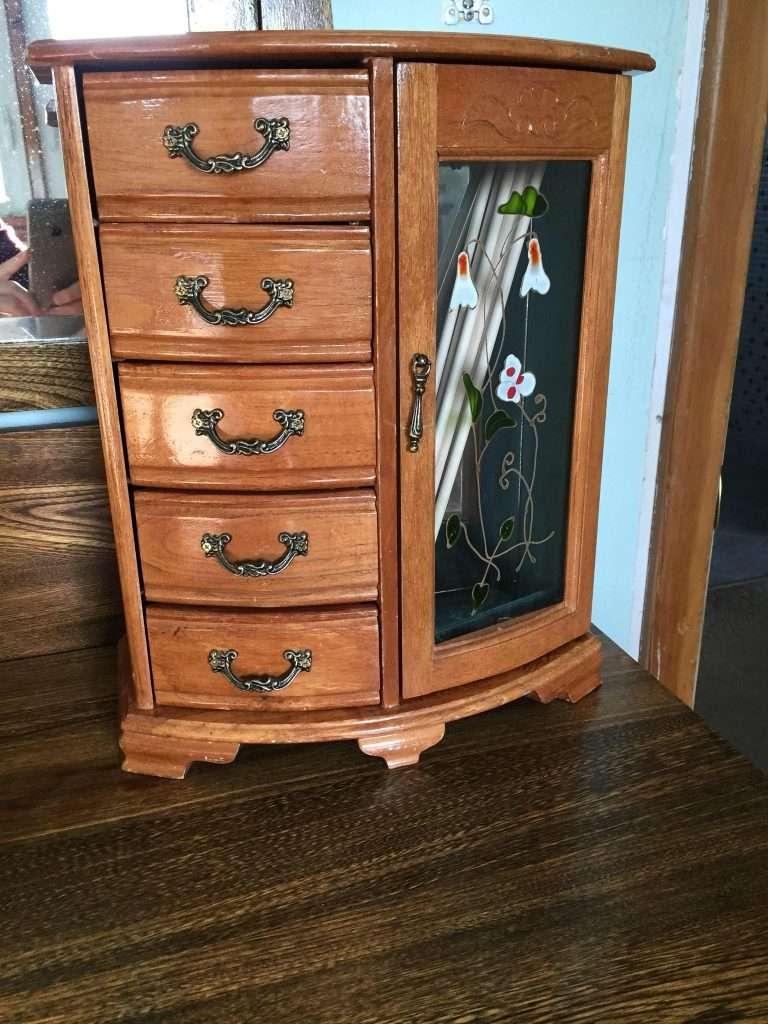 Jewelry Box turned Craft Organizer