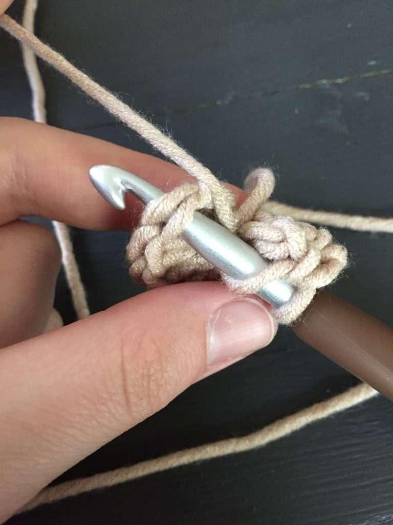 Double Crochet in Next Round