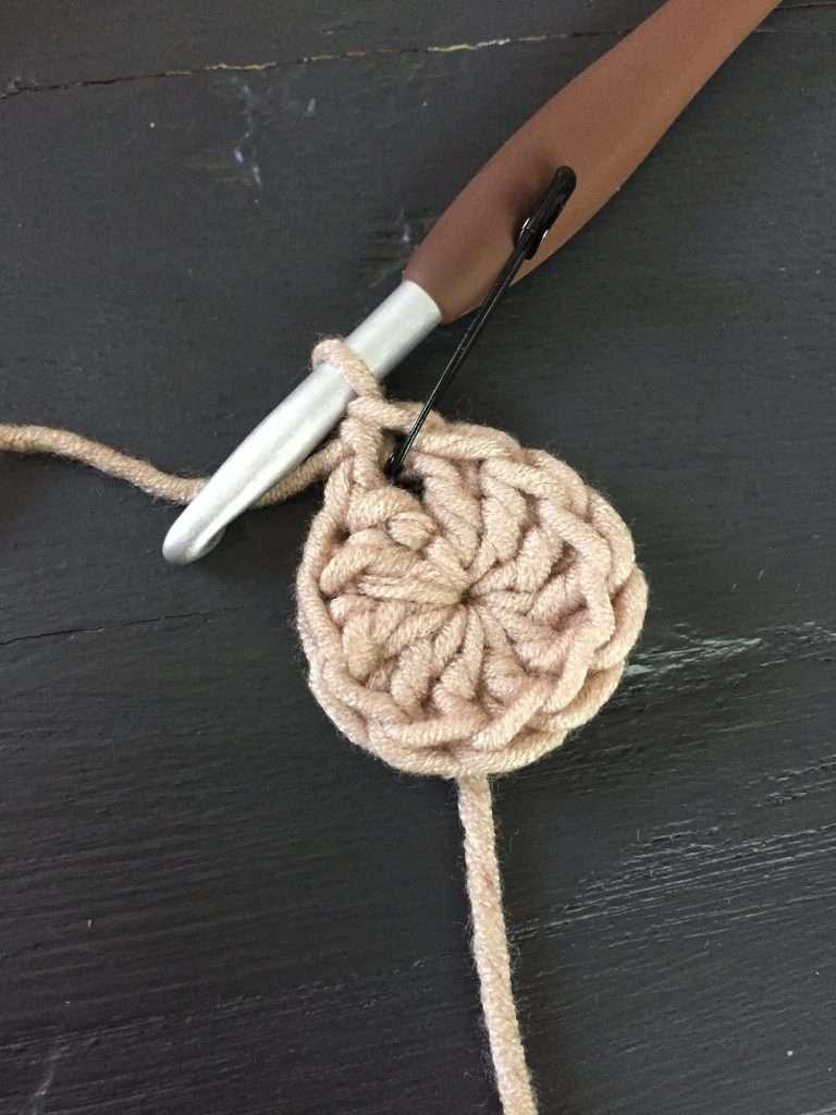 Add a stitch marker