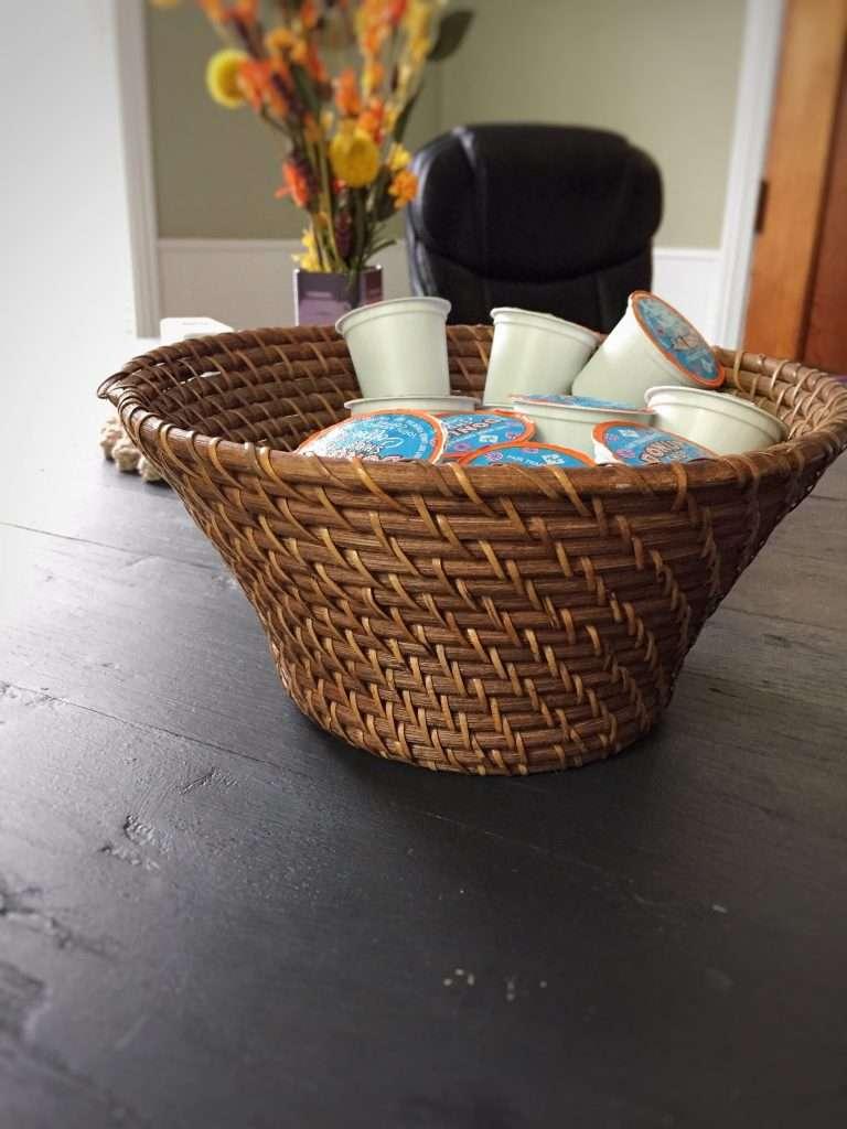 Cane Basket for Keurig Cup Storage