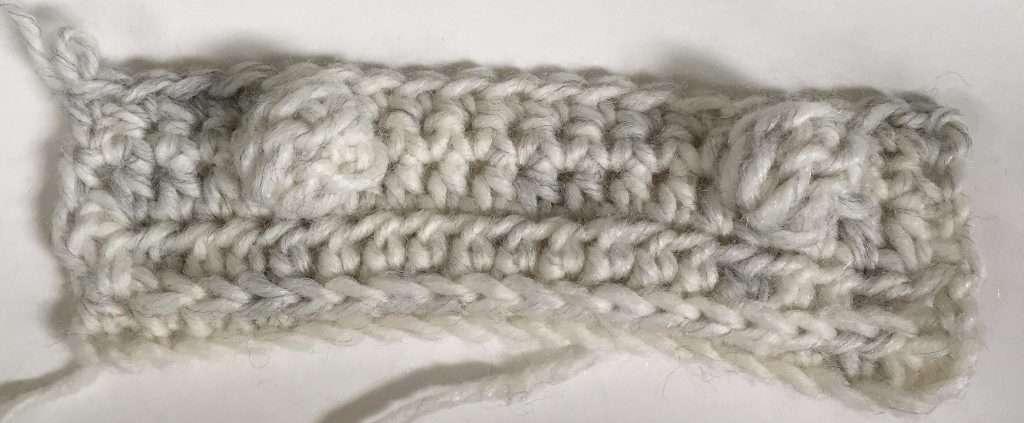 Crochet Modified Bobble Stitch