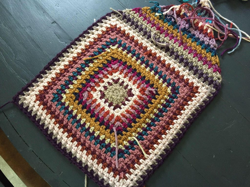 Creating Corners in Crochet