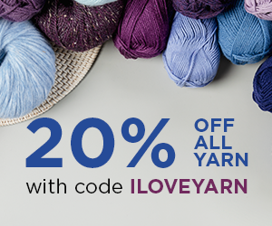 20% off Knit Picks and We Crochet Yarn for 7/10/21
