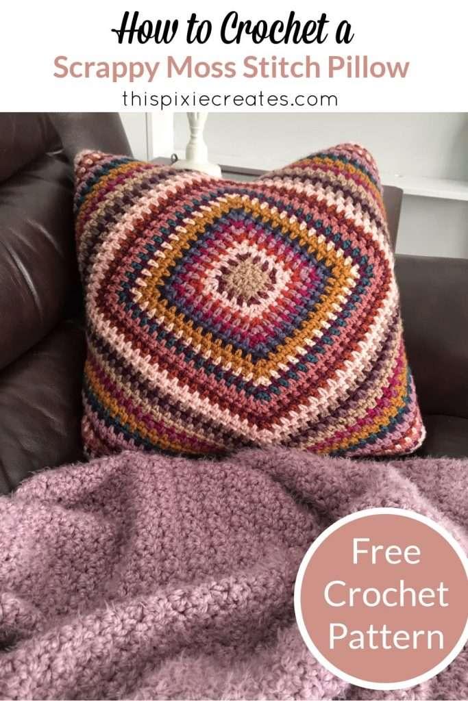 Mabel Pillow Crochet Pinterest Pin